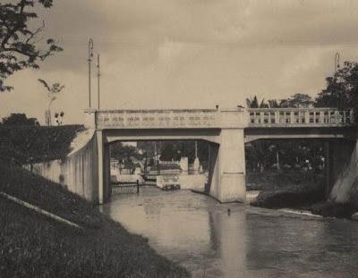 Jembatan Diponegoro Tempoe doeloe Pematangsiantar