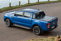 Ford Ranger Wildtrak X Double Cab (2018) Rear Side