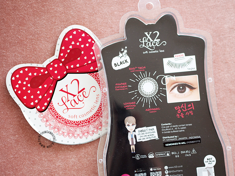 X2 Bio Lace Circle Lens Review in Black
