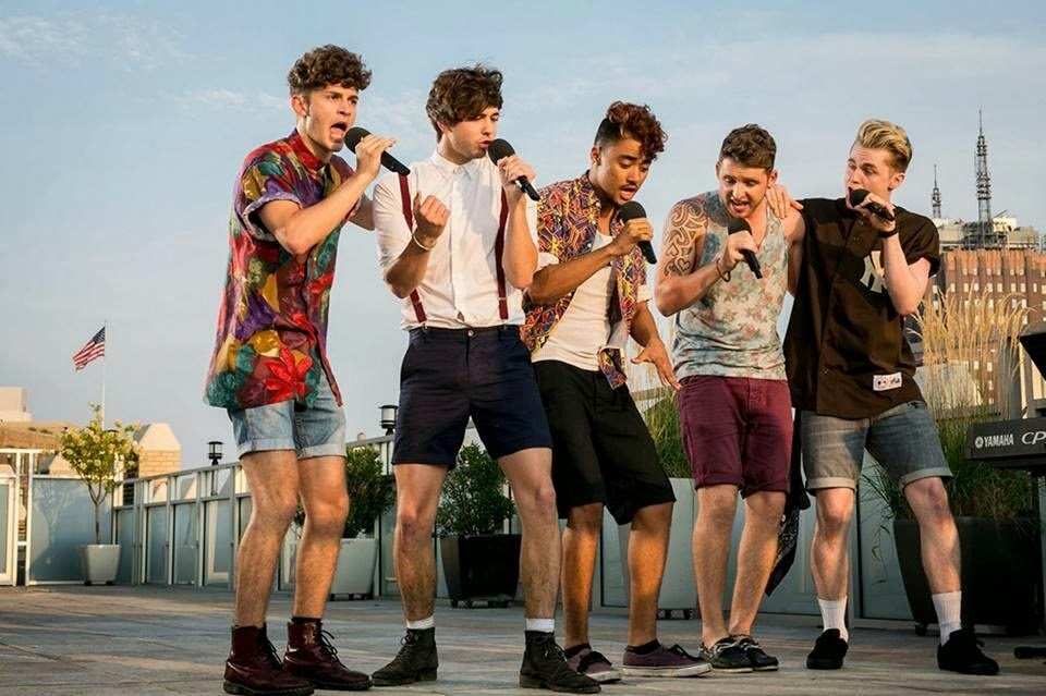 KINGSLAND ROAD sings Dance with Me Tonight by Olly Murs at