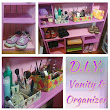 Ms. Walker Makes: DIY Vanity & Organizers