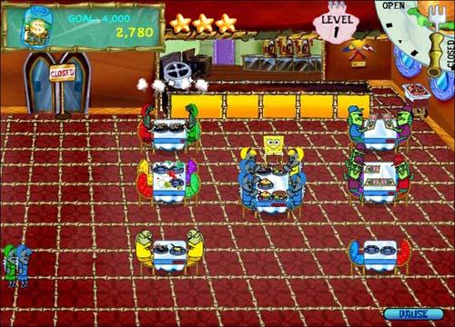 تحميل لعبة سبونج بوب SpongeBob Diner Dash للكمبيوتر والاب توب