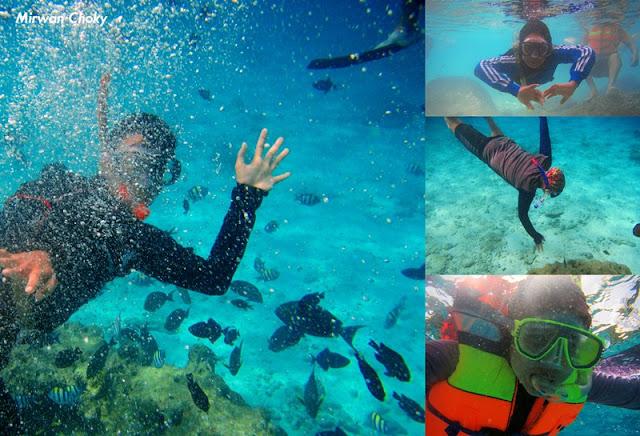 Snorkeling dan Diving di Pantai Iboih Aceh