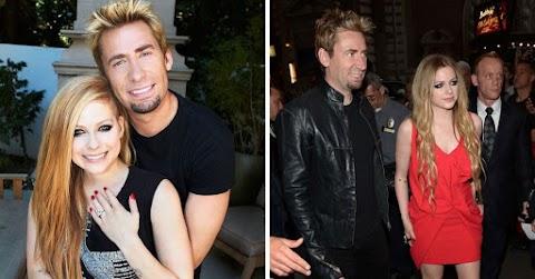 15 fotos de Avril Lavigne con su ex, Chad Kroeger