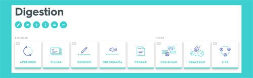 Tarjetas y juegos de Quizlet para trabajar el sistema digestivo y el proceso de la digestión en inglés