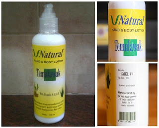 Lotion Temulawak V Natural Original