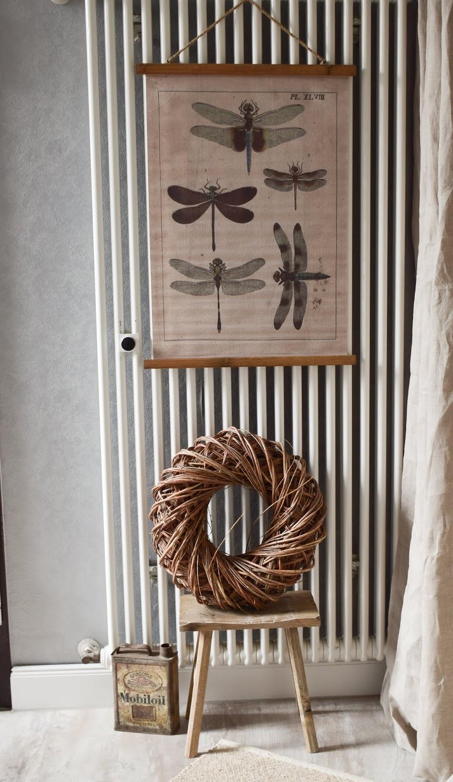 Dekoidee Heizkörper Verschönerung Kaschieren Deko dekorieren