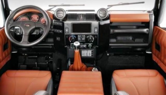 2018 Land Rover Defender Camper Edition