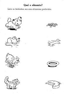 Alimentos de animais maternal