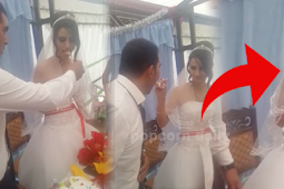 Shocking, This What The Groom Did To His Bride!