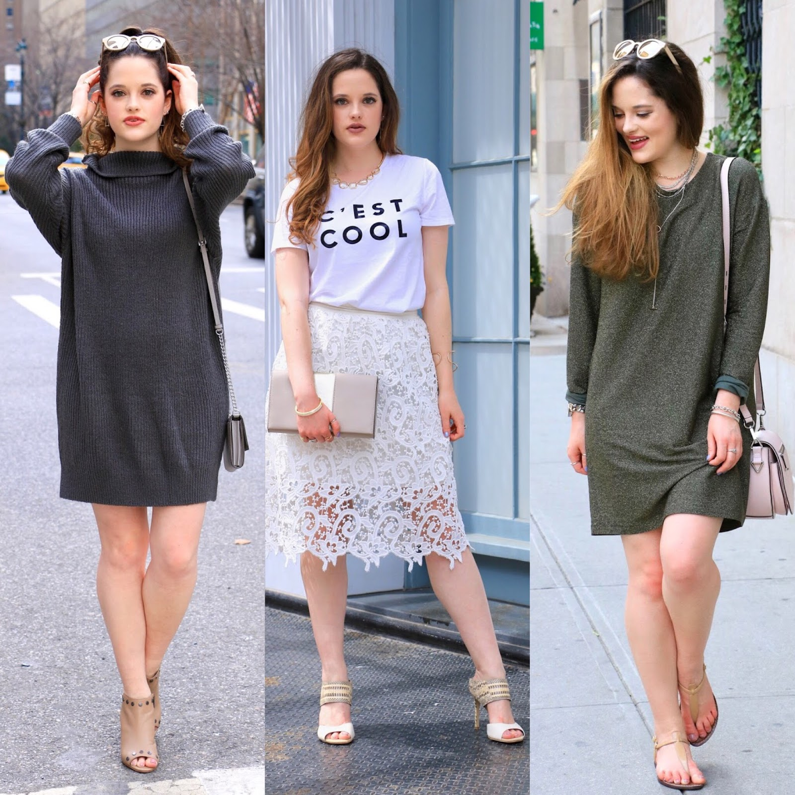Fashion blogger spring outfit ideas