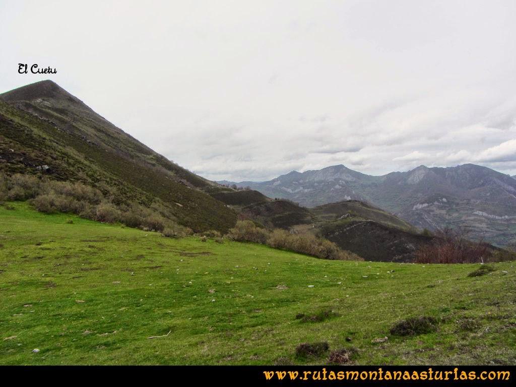 Ruta Peña Redonda: Collado Chera y el pico Cuetu