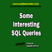 Some Interesting SQL Queries, www.askhareesh.com