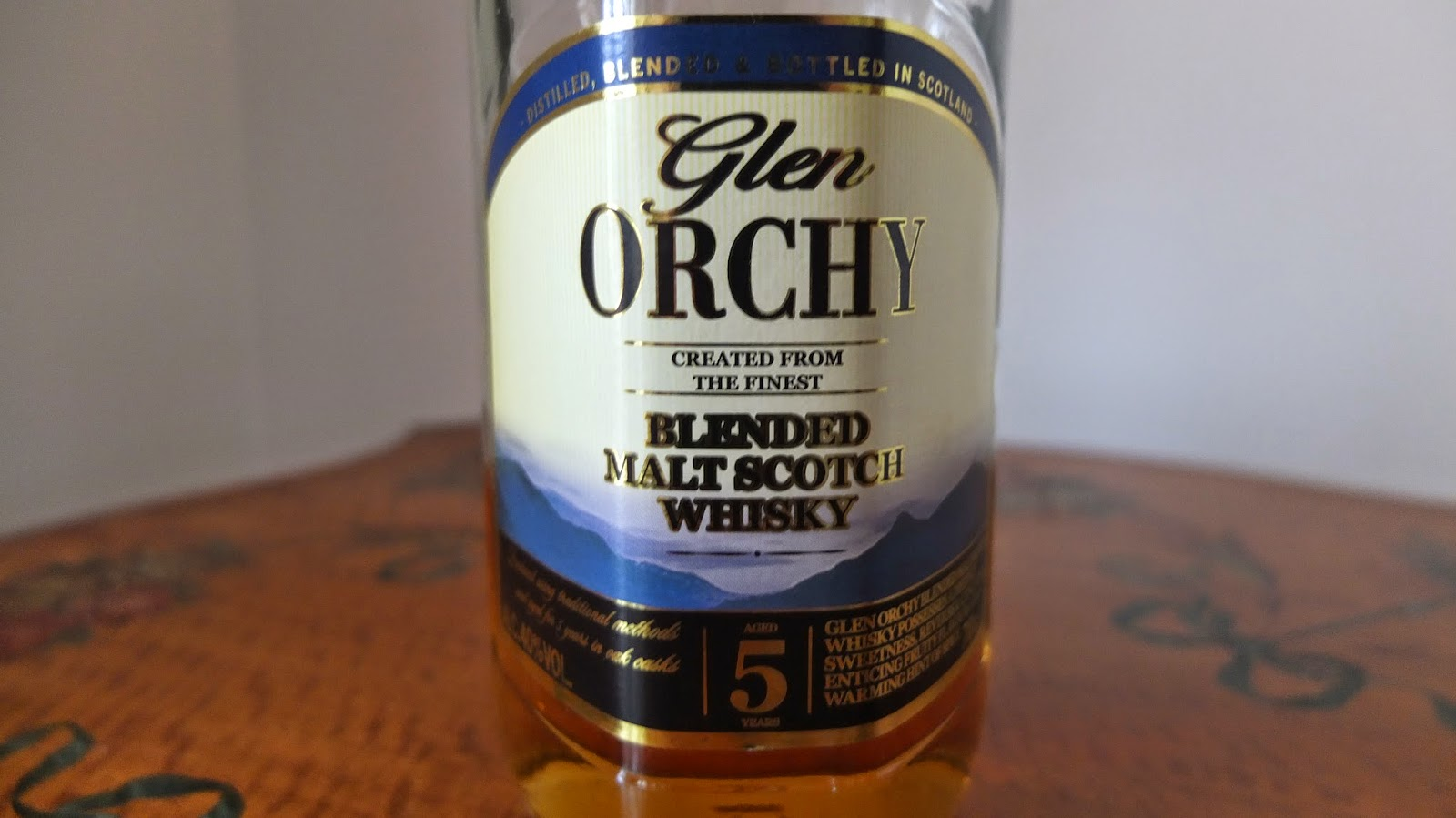 Review Glen Orchy 5 Year Old Malt Whisky Reviews