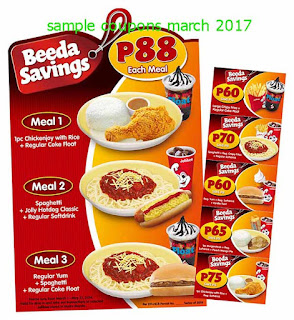 Jollibee coupons march 2017