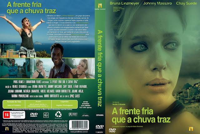 Capa DVD A Frente Fria Que A Chuva Traz