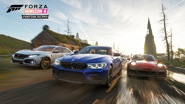 Forza Horizon 4: Fortune Island Features