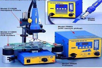 Panduan Mengganti Komponen Surface Mount Devices (SMD)