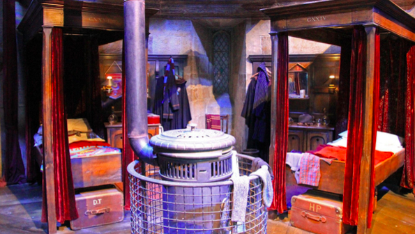 Hogwarts, Harry Potter hotel room with two beds in London
