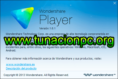 Descargar Wondershare Player Español Gratis