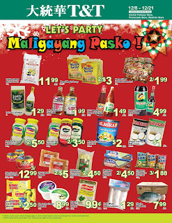 T&T supermarket weekly flyer December 8 - 14, 2017
