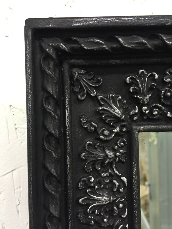 A Variety of Mirrors Refinished with Chalk Paint