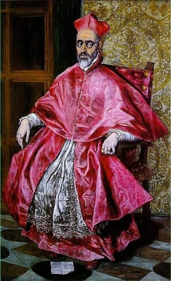 Retrato de um Cardeal - El Greco e suas principais pinturas ~ Maneirismo