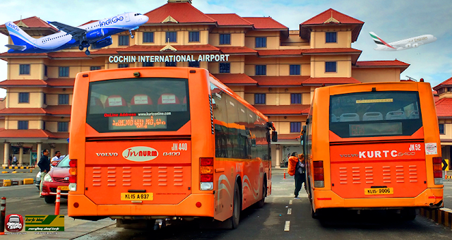 Ksrtc Kurtc Bus Timings From Nedumbassery Airport