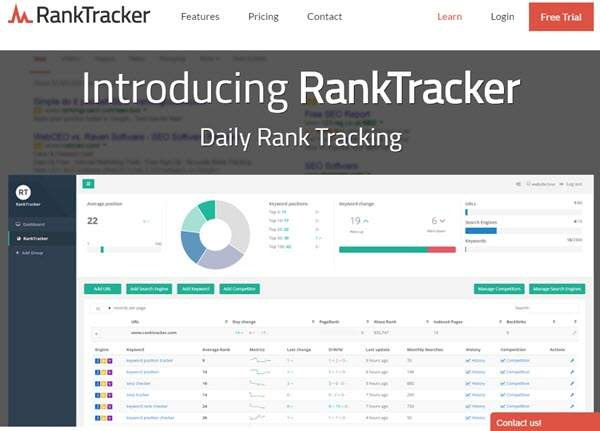 Top 3 Free Rank Tracking Software