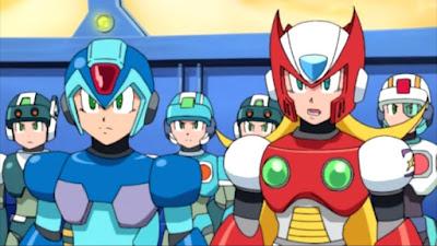 Mega Man X day of Sigma anime