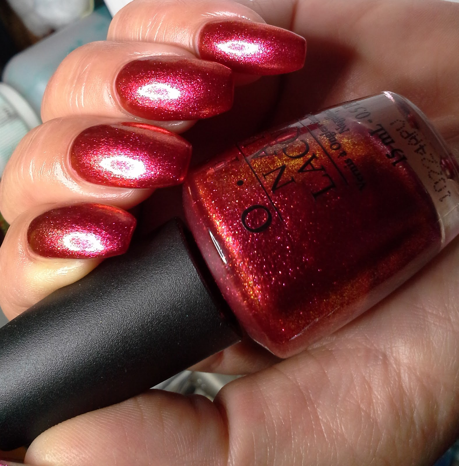 Glammed-up: OPI, The Show Must Go On! ~discontinued
