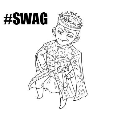 One Thousand Words: The Emperor of Swag [Short Fiction]