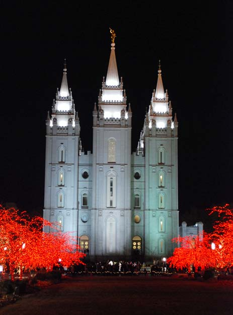 Temple Square Salt Lake City Christmas Lights.Artwife Needs A Life Christmas Lights At Temple Square