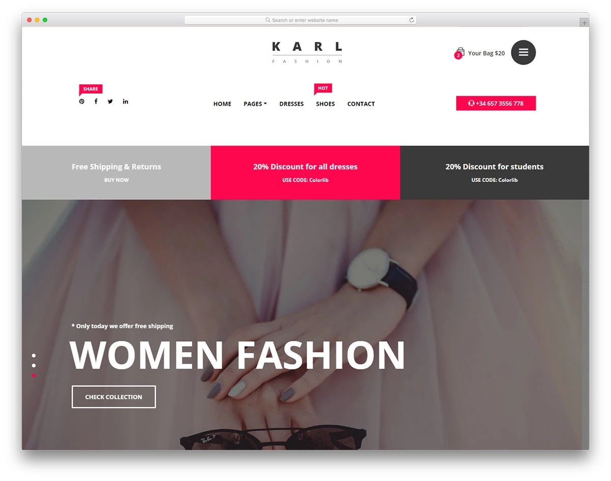 Download Online Fashion Shop Awesome Project in PHP 2019 | Complete