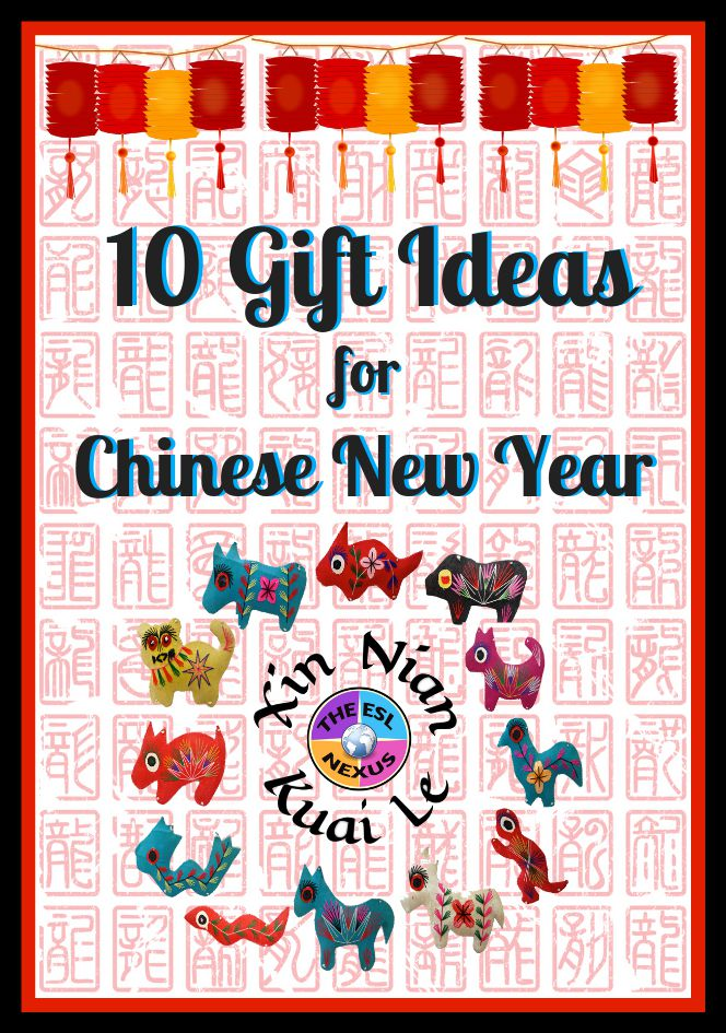 Find great ideas for celebrating Chinese New Year in this gift guide! | The ESL Nexus