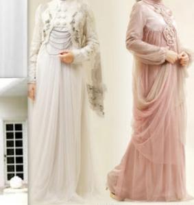 Model Gaun Pengantin Untuk Yang Berjilbab