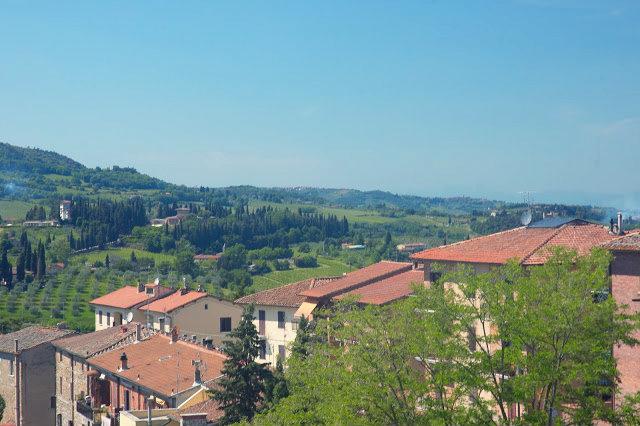 Toskania, Włochy, co zobaczyć? panorama miasta