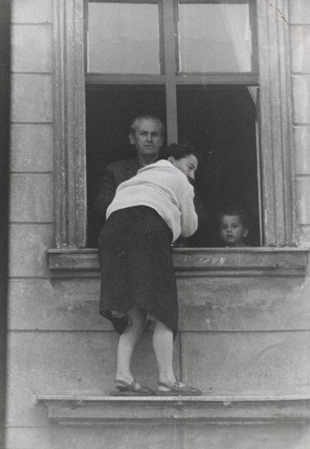 Four-Year-Old Boy of East Germany Is Tossed by His Father ...