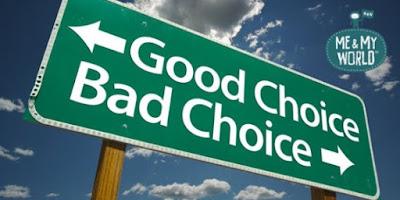 pelajaran hidup yang bisa merubah nasib kita, me&myworld, hidup adalah pilihan