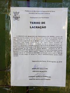 Operação da Guarda Civil de Itapecerica fechou 8 bares na cidade
