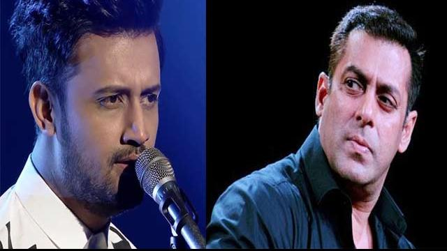 Salman khan and atif aslam