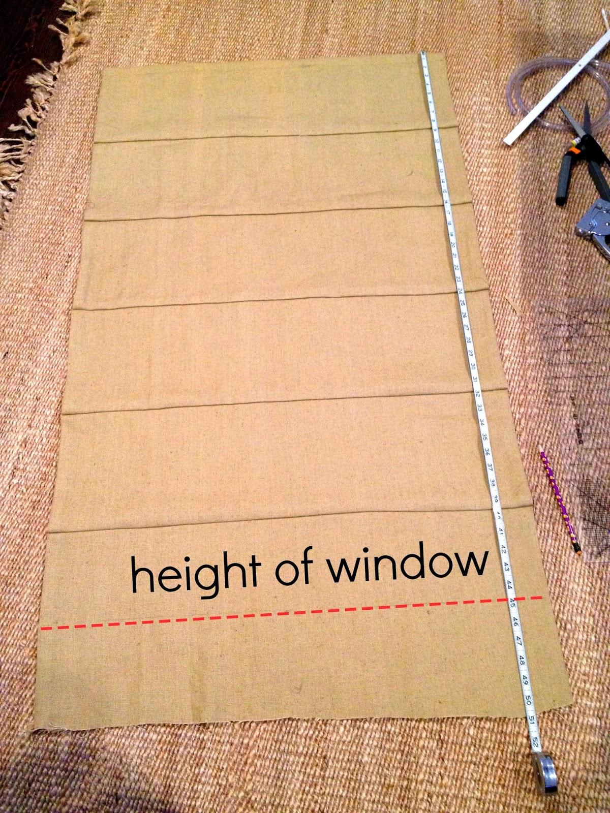 mark height of window