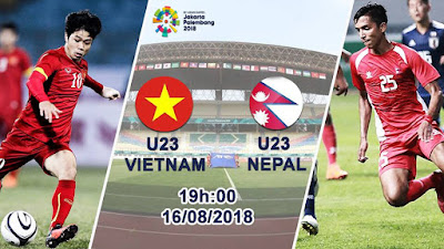 Live Streaming Nepal vs Vietnam Asian Games 16.8.2018