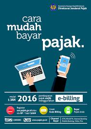 1 Juli 2016, Bayar Pajak Harus Dengan e-Billing