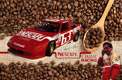 Racing Champions Nestea Classic 1990 BGN Champion Chuck Bown Coffee Vintage