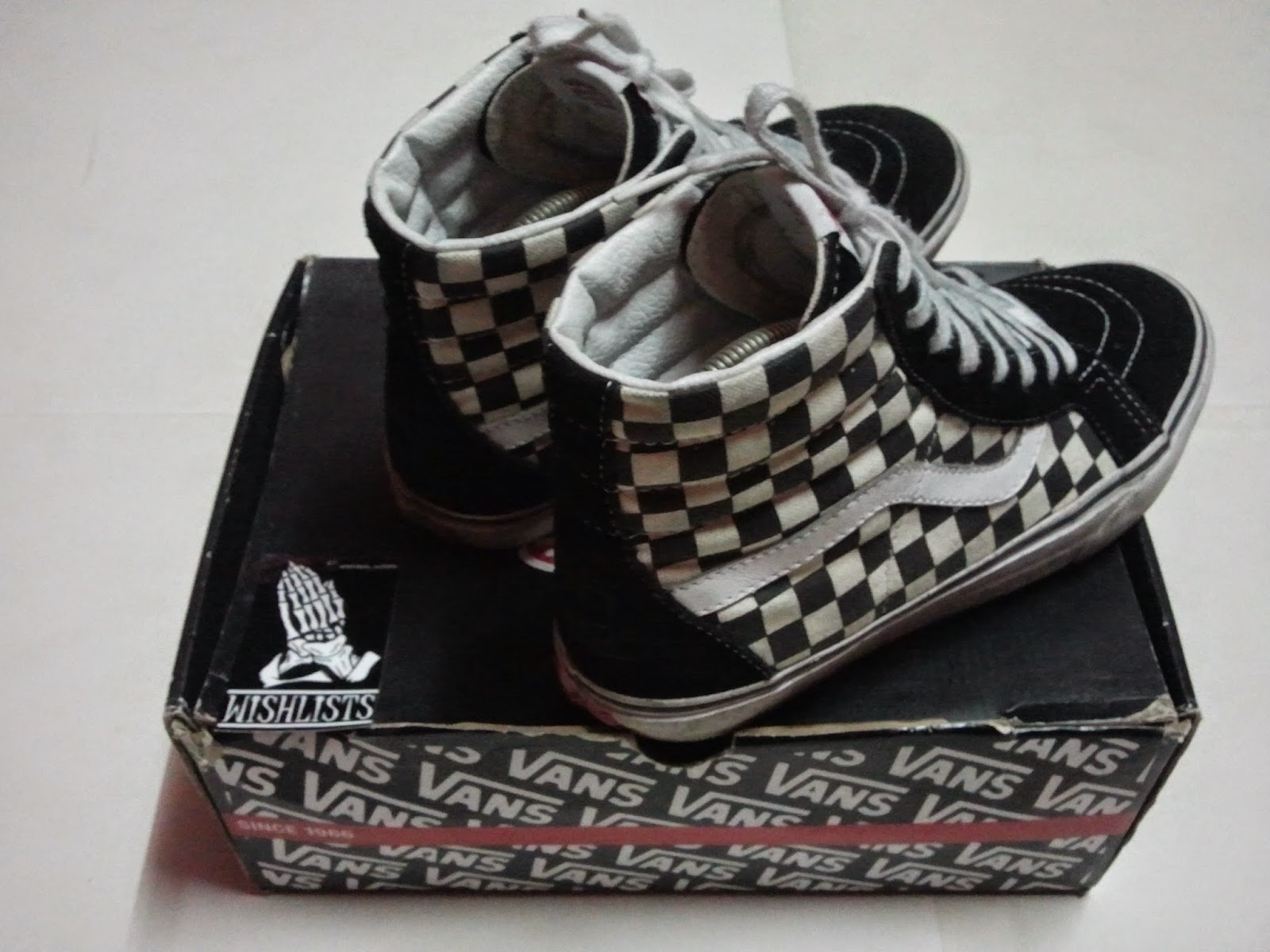 6039a2a42d Jerau s Territory X Wishlists  (WL-2497) Sk8-Hi Checker Shoes By ...