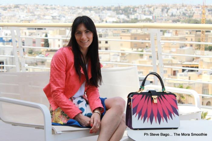 fashionblogger, fashion, paola buonacara, intercontinental malta, paranga, ootd, malta, look, outfit, fracomina, tuwe, veneziani, veneziani bag, american vintage