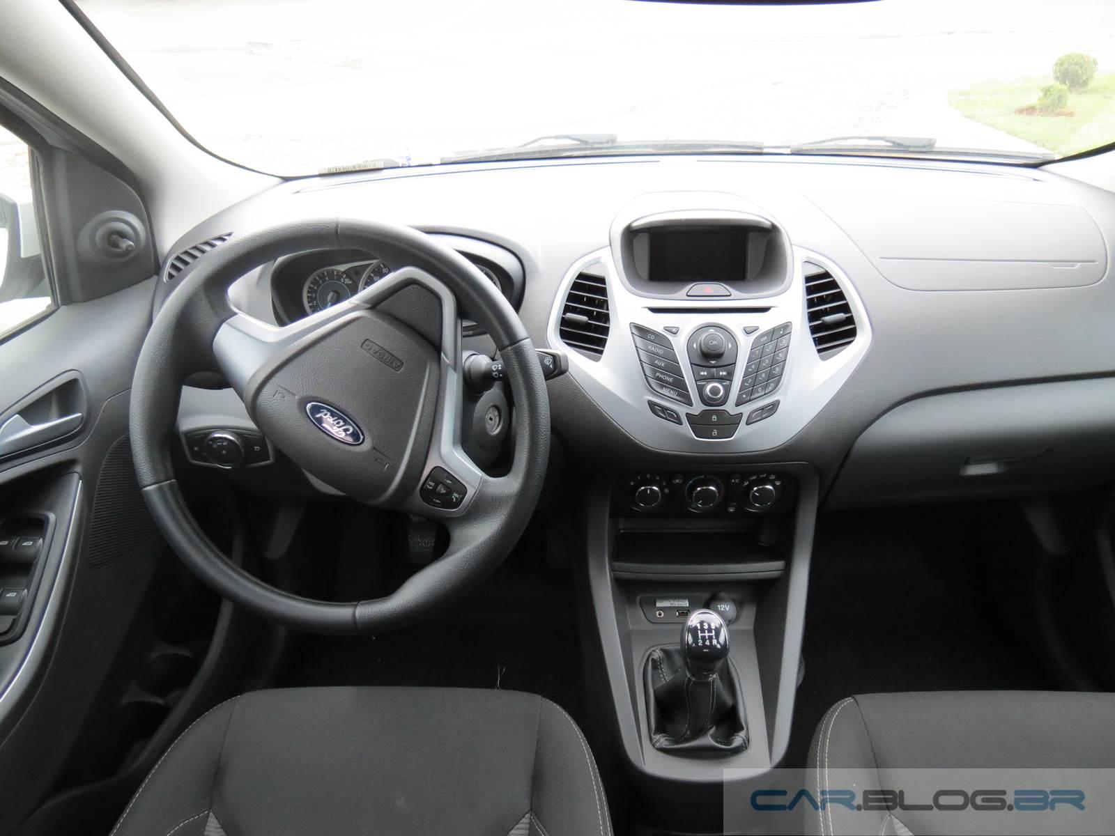 Novo Ford Ka  Interior