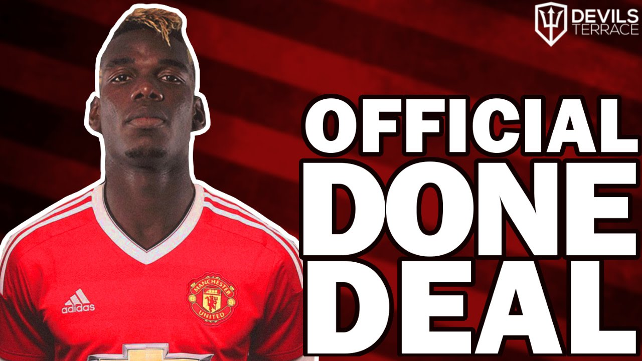 Paul Pogba Rejoins Manchester United