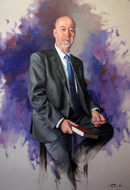 Ricardo Sanz, Maestros españoles del retrato, Retratos de Ricardo Sanz, Pintores Catalanes, Pintor español, Pintor Ricardo Sanz, Pintores de Asturias